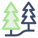 ecology, environment, forest, trees icon