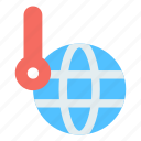 ecology, global warming, hot, planet, temperature icon