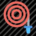 garden hose, gardening, watering icon