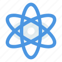 atom, physics, science icon