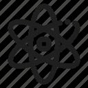 atom, physics, science icon