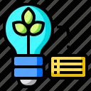 eco, bulb, ecology, earth, green