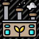 factory, eco, ecology, world, plant