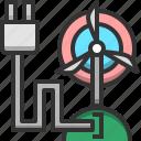 energy, turbine, battery, eco, electricity, environment, green