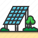 charge, eco, electricity, energy, environment, power, solar cell icon