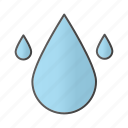aqua, clean, drop, droplet, liquid, resources, water icon