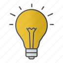 bulb, electricity, energy, idea, innovation, light, lightbulb icon