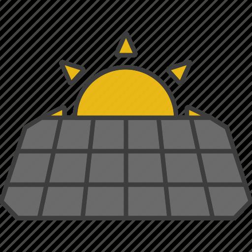eco, energy, generator, panel, solar, solar battery, sun icon