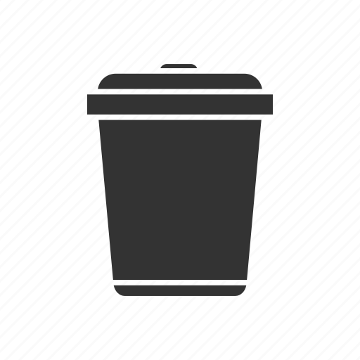 bin, can, garbage, recycling, reducing, rubbish, waste icon