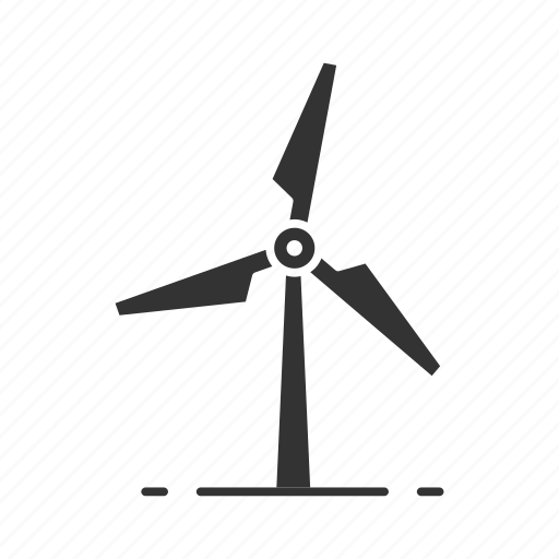 electricity, energy, resources, turbine, wind, wind power, windmill icon