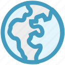earth, ecology, environment, global, globe, pollution, world icon
