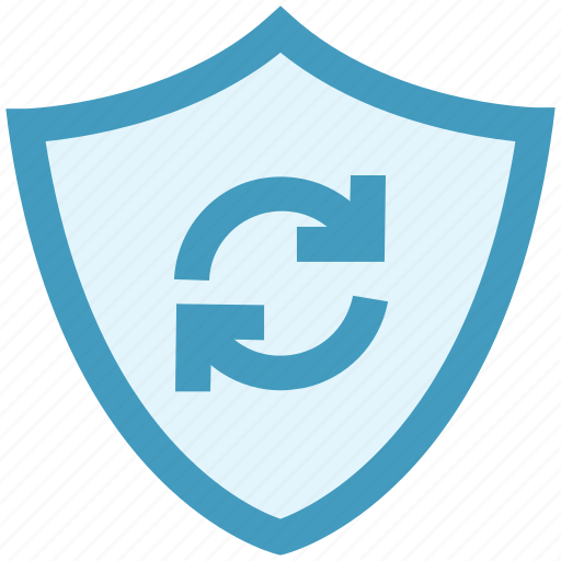 Ecology, environment, environmental, protection, rotation, shield icon - Download on Iconfinder