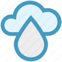 cloud, conservation, ecology, environment, rain, water icon