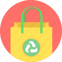 bag, eco icon