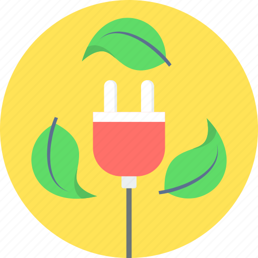 energy, green icon
