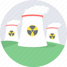 nuclear, plant icon