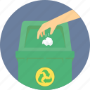 bin, dustbin, garbage, recycle, recyclebin, trash, waste icon