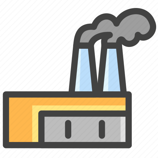 Factory, industrial, industry, production icon - Download on Iconfinder