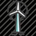 energy, storm, turbine, wind