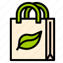 bag, eco, pollution, recycled, save icon