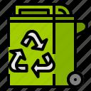 bin, garbage, segregation, trash, waste