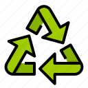 recycle, recycling, reprocess, reuse, sign