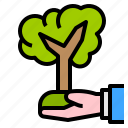 eco, ecology, growth, plant, sprout icon
