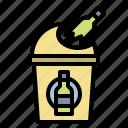 ecology, glasscontainer, glassbin, glass, bin, waste, trash, recycle