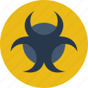 biohazard, ecology, green, planet, pollution icon