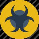 biohazard, ecology, green, planet, pollution icon