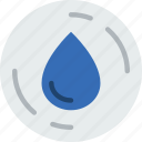 ecology, green, planet, pollution, water icon