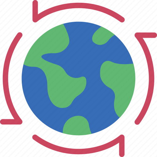 around, ecology, green, planet, pollution, the, world icon