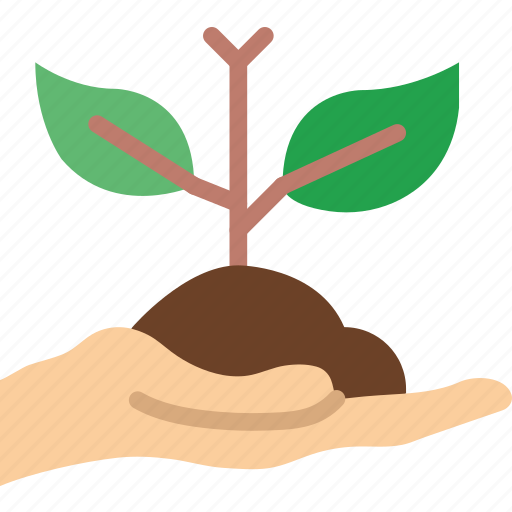 ecology, green, planet, pollution, soil icon