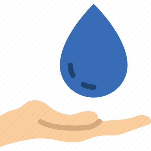 ecology, give, green, planet, pollution, water icon