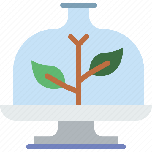 artificial, ecology, green, planet, plant, pollution icon