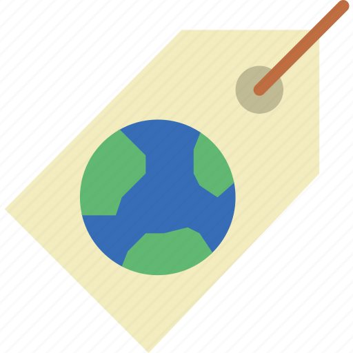 ecology, goods, green, planet, pollution, recyclable icon