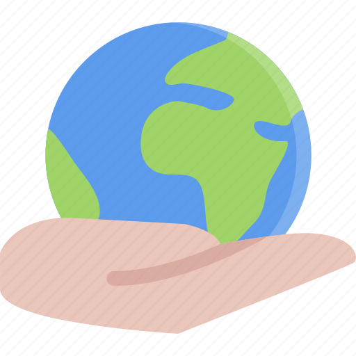 earth, eco, ecology, guardar, hand, nature, save icon