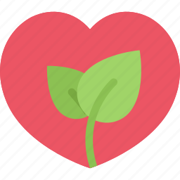eco, ecology, guardar, love, nature, save, sprout icon