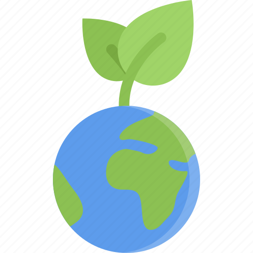 eco, ecology, guardar, nature, planet, save, sprout icon