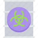 eco, ecology, nature, poison, save, waste icon