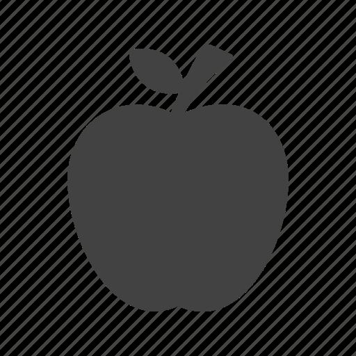 apple, fresh, green, nature, organic, red, tree icon