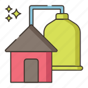 biogas, biogas energy, energy icon