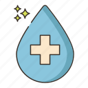 clean, clean water, purified, water icon