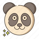animal, panda, zoo icon