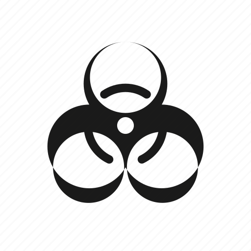 bio, ecology, hazard icon