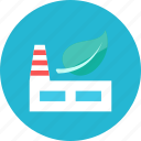 eco, factory icon