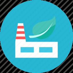eco, factory icon