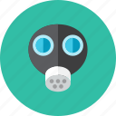 gas, mask icon