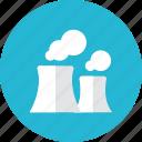 nucelar, plant icon