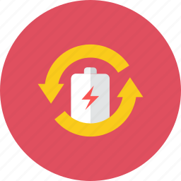 battery, recharge icon